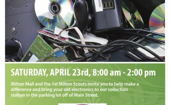 1st Milton E-Waste Fundraiser